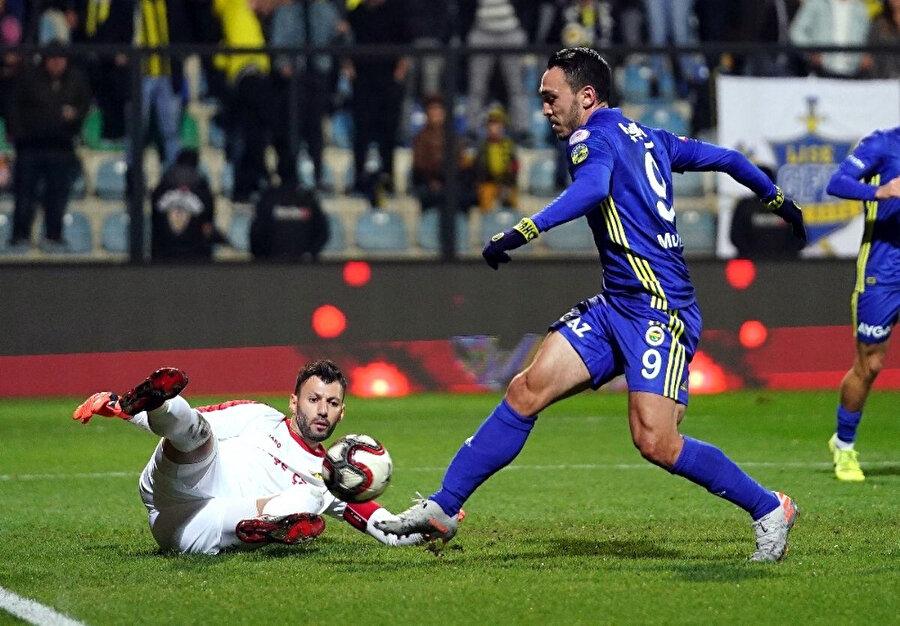 Mevlüt Erdinç, Fenerbahçe forrmasıyla gol üretemedi.