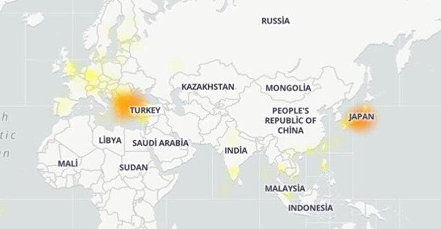 Sorunun en yoğun yaşandığı ülkeler Türkiye ve Japonya
