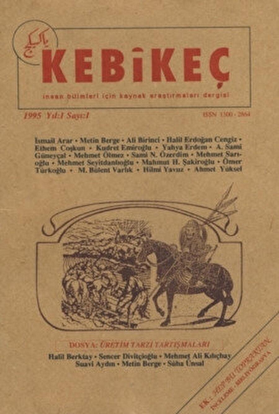 Kebikeç dergisi ilk 14 sayısında tamamen kitabiyat konularını işlerken takip eden sayılarda dosya konuları kitabiyatın dışına kaymış, sosyal bilimlerin diğer alanlarında da yazılar dergiye dâhil edilmiştir.