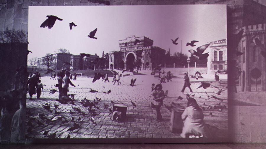 Sergide eski İstanbul'a dair fotoğraflarda yer alıyor.