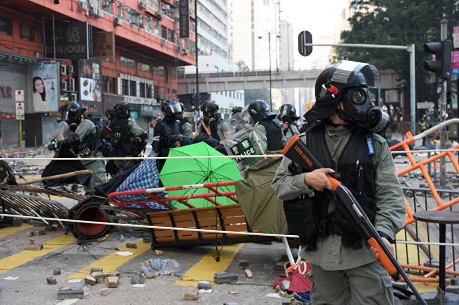 2019 Asya'da sokak protestolarının zirveye ulaştığı bir yıl oldu. Fotoğraf / AA