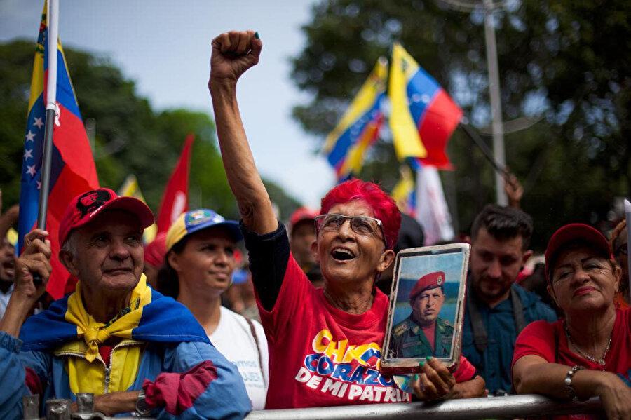 Güney Amerika'da sokak protestolarının yaşandığı bir diğer bölge oldu. Fotoğraf / AA