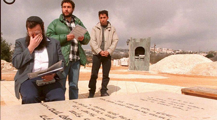 Goldstein'in Kiryat Arba'daki mezarı.