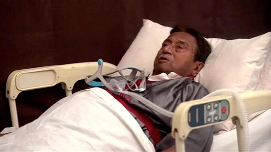 Pakistan eski Cumhurbaşkanı Pervez Müşerref kendisine verilen idam cezasını hasta yatağından değerlendirdi.