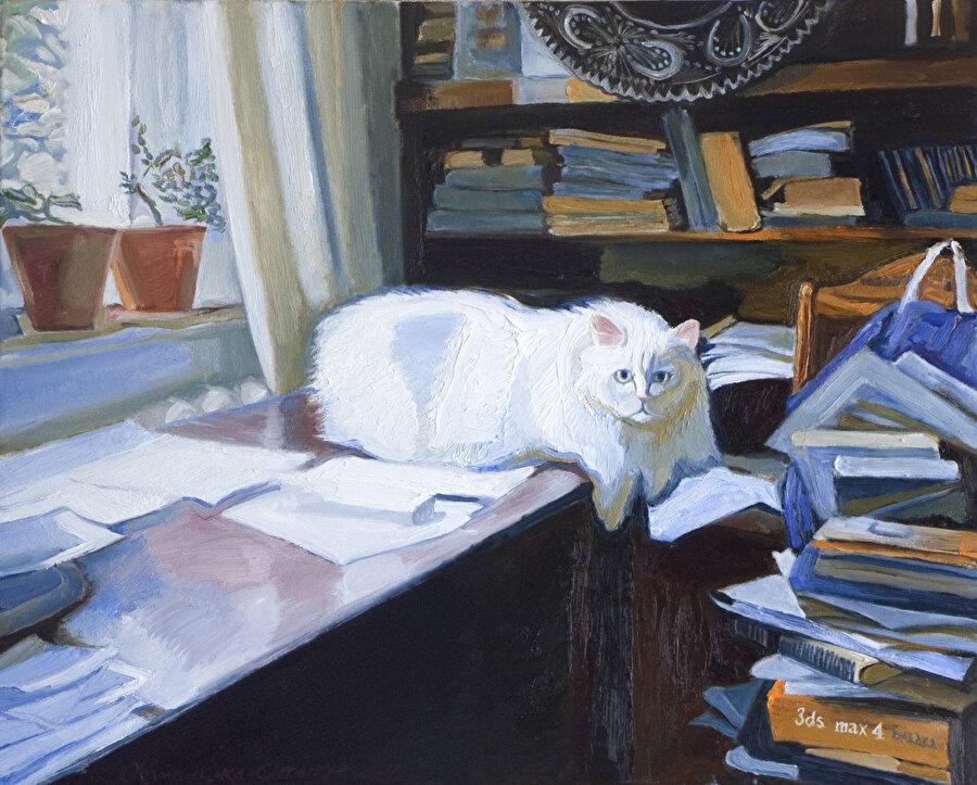 Kedilerle meşgul olmak hayatımı güzelleştirdi.