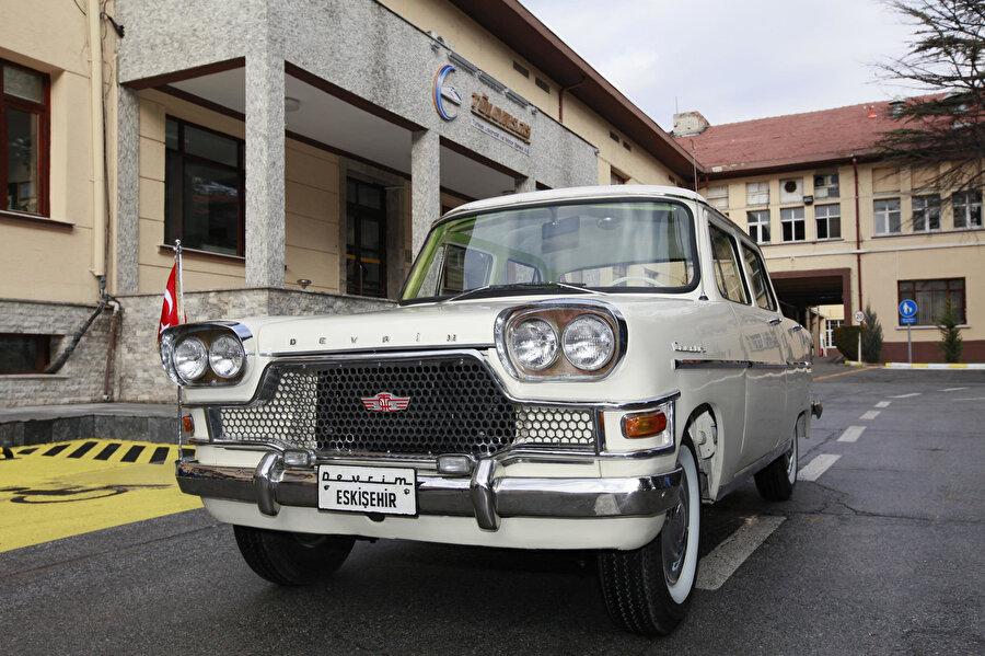 129 günde üretilen ilk yerli otomobil olma özelliğini taşıyan 'Devrim' otomobili