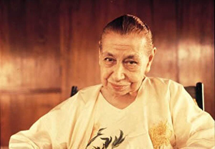 The mother (anne), Auroville'ın kurucusu Roger Anger