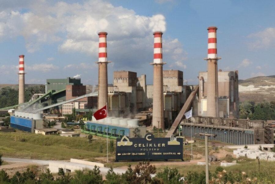 Kütahya'daki termik santral