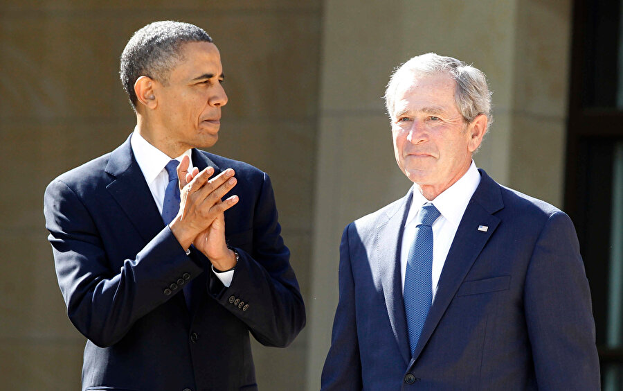 Obama ve Bush
