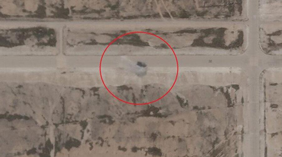 İran'ın saldırdığı ABD üslerinden görüntüler
