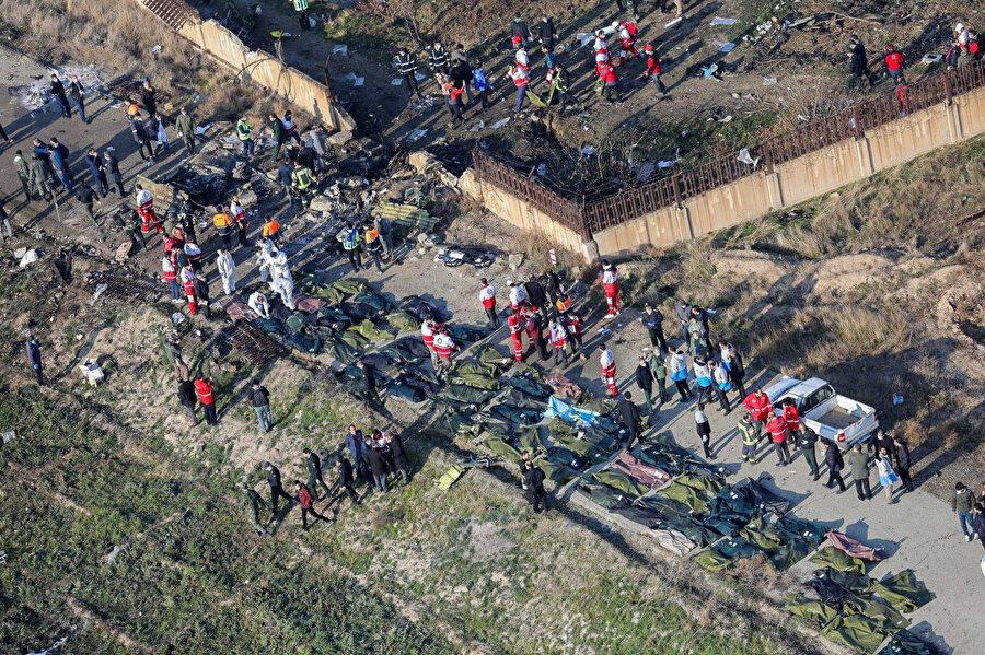 Kazada, 73'ü Kanada, 71'i İran, 8'i İsveç, 6'sı Afganistan, 4'ü Almanya, 3'ü İngiltere ve 11'i Ukrayna vatandaşı 176 kişi yaşamını yitirdi.