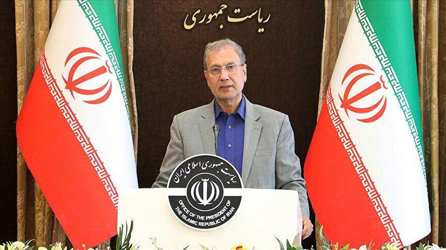 İran Hükümet Sözcüsü Ali Rebii.