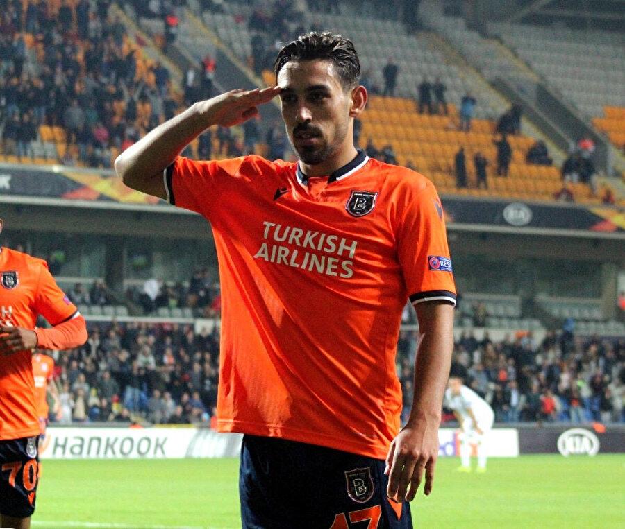 Wolfsberger maçında gol atan İrfan Can asker selamı vermişti.