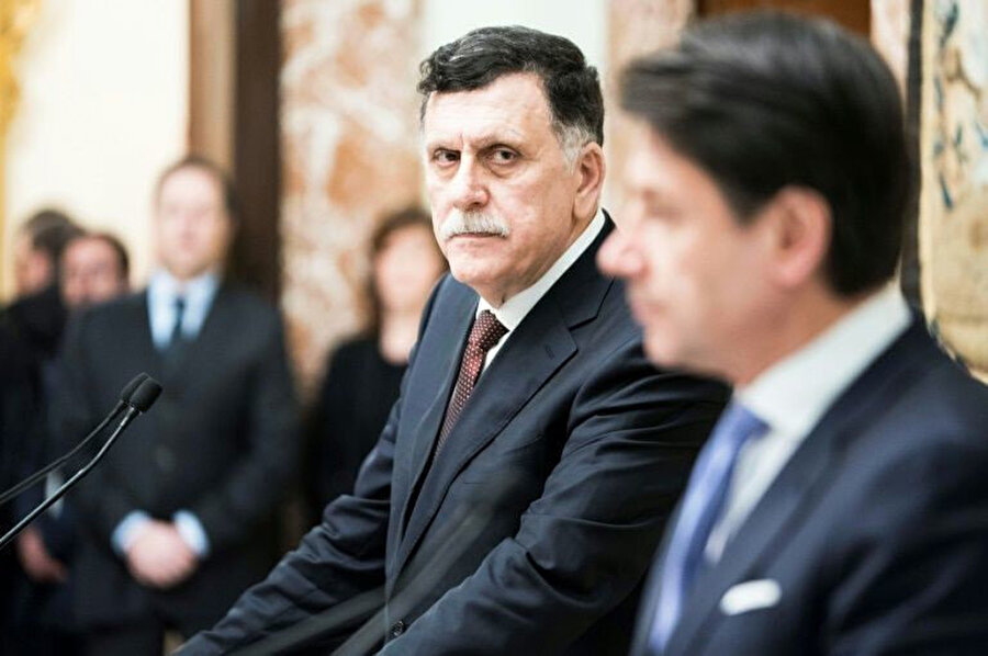 Ulusal Mutabakat Hükümeti (UMH) Başbakanı Fayiz es-Serrac.