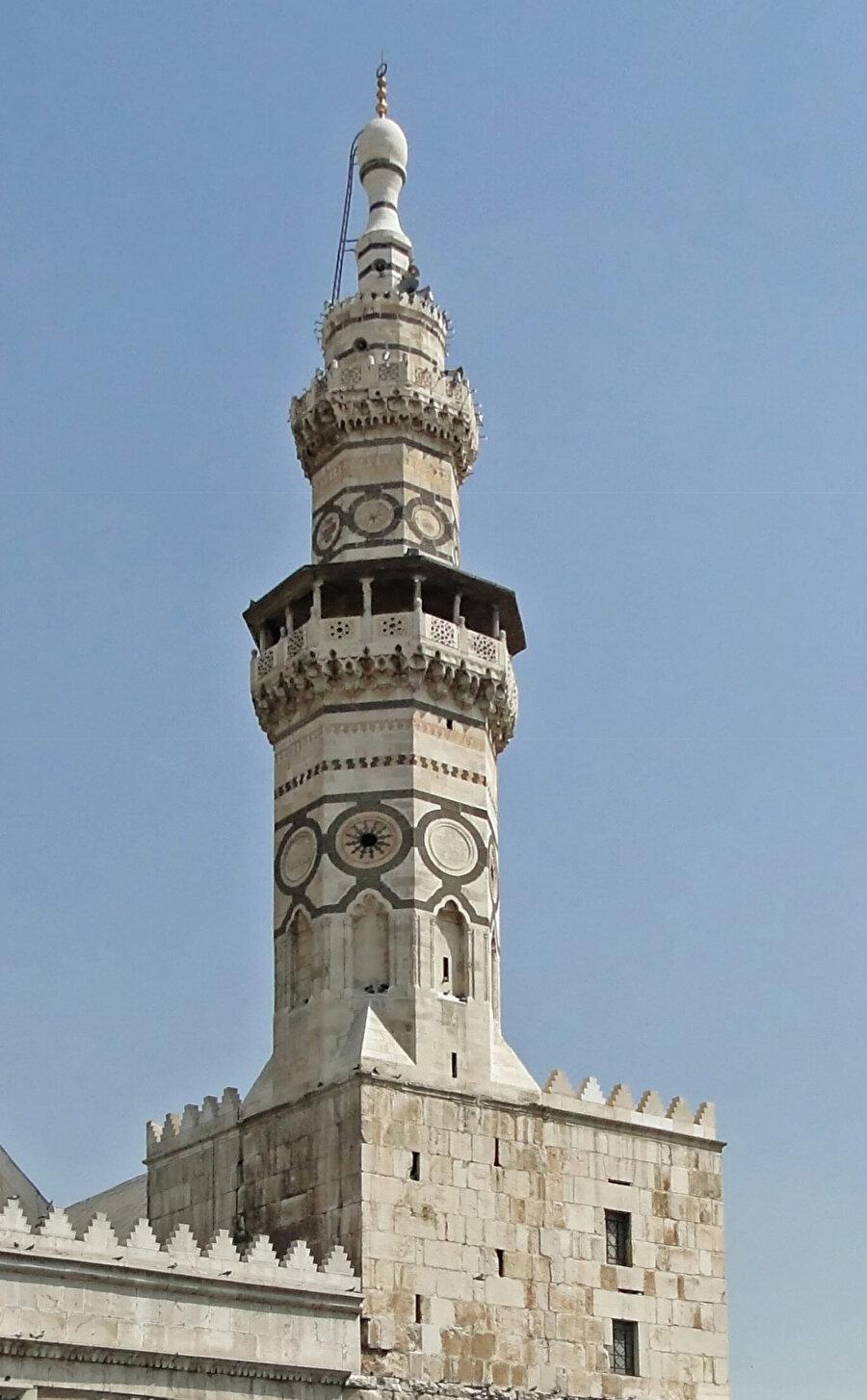 Memluk Sultanı Kayıtbay'ın ismiyle anılan minare.