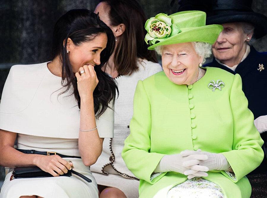 Meghan Markle ve İngiltere Kraliçesi 2. Elizabeth