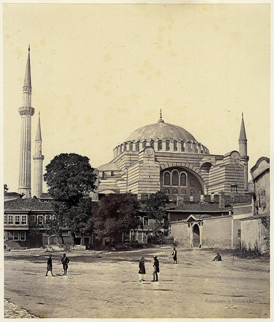 Ayasofya, James Robertson&Felice Beato, 1855