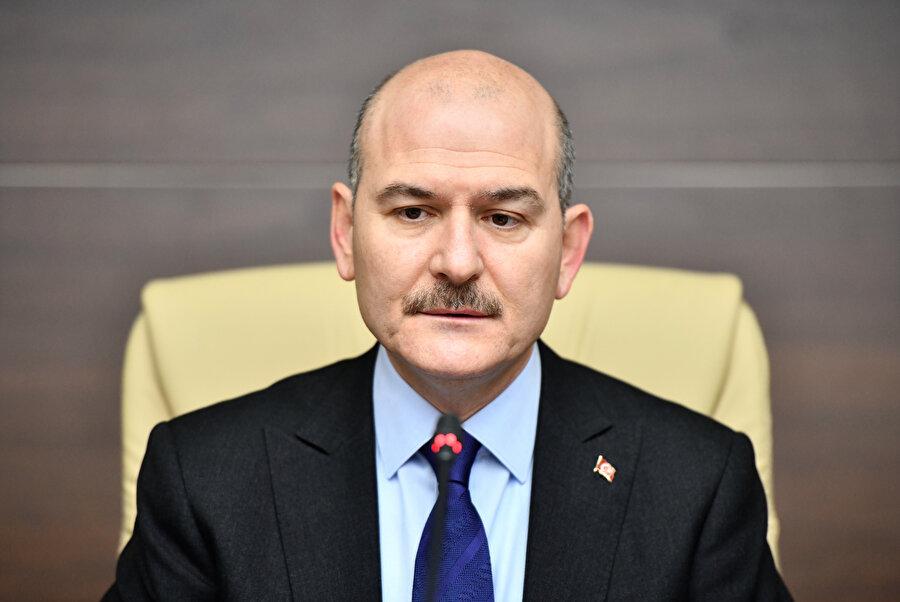 İçişleri Bakanı Süleyman Soylu