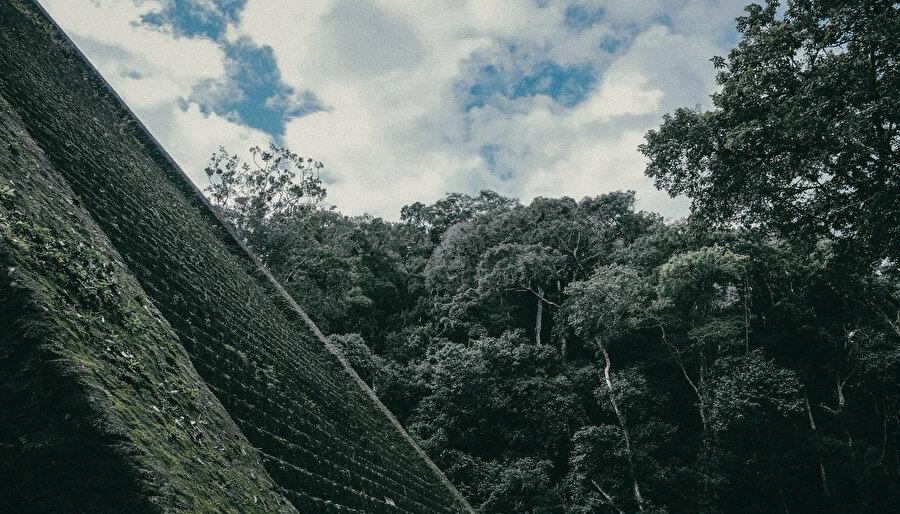 Bir doğa harikası Machu Picchu