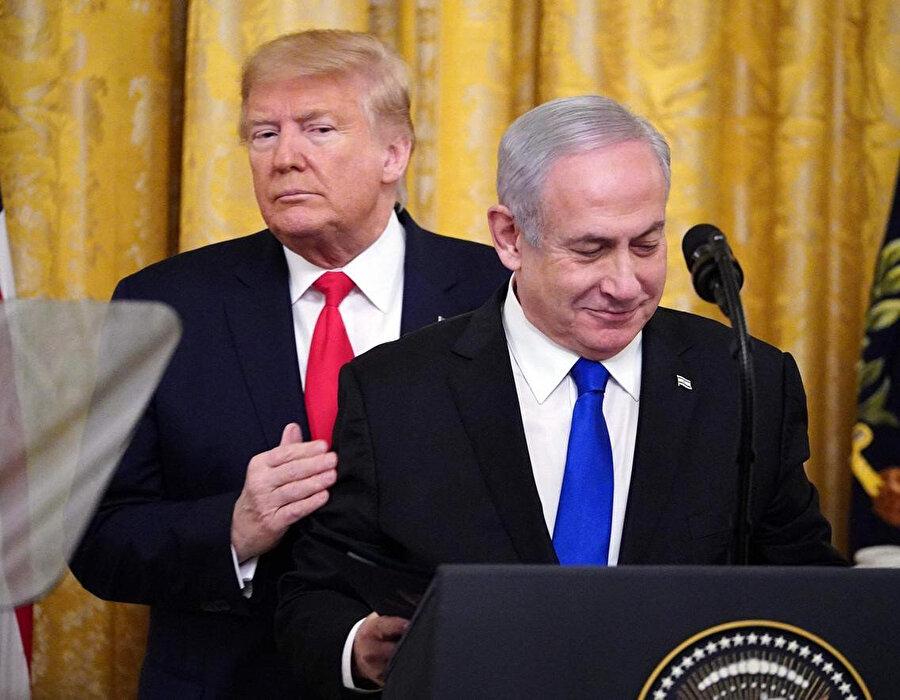 İsrail Başbakanı Netanyahu, sözde Orta Doğu barış planının detaylarını açıkladı.