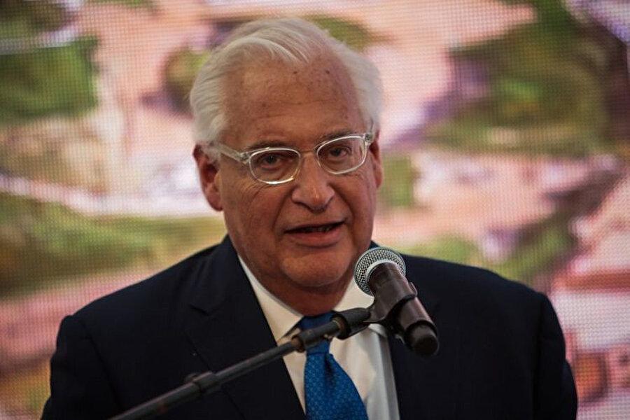 ABD'nin İsrail Büyükelçisi David Friedman.