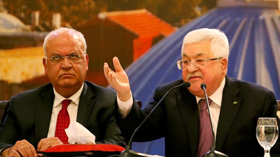 Filistin Devlet Başkanı Mahmud Abbas, Trump'ın sözde Orta Doğu barış planıyla ilgili açıklamasının ardından bir konuşma yaptı.