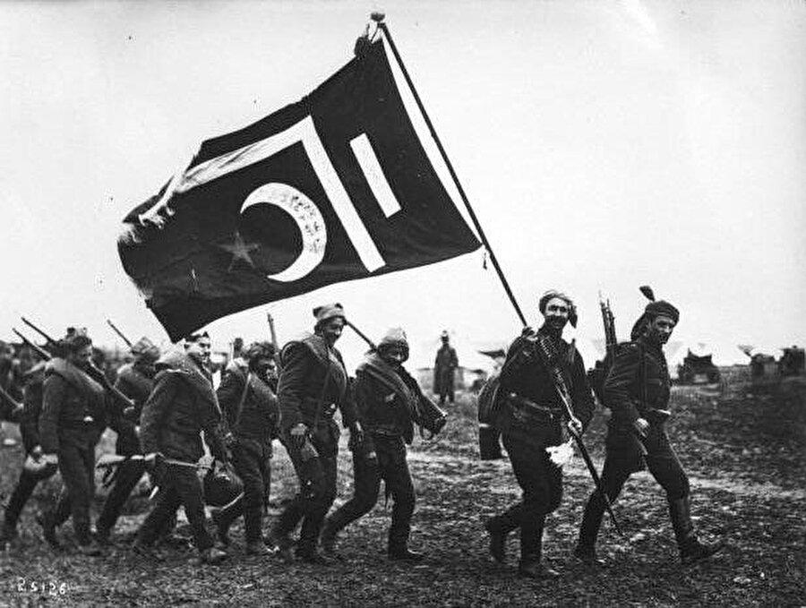 Birinci Balkan Savaşı'nda Osmanlı birlikleri. 30 Mayıs, 1913.