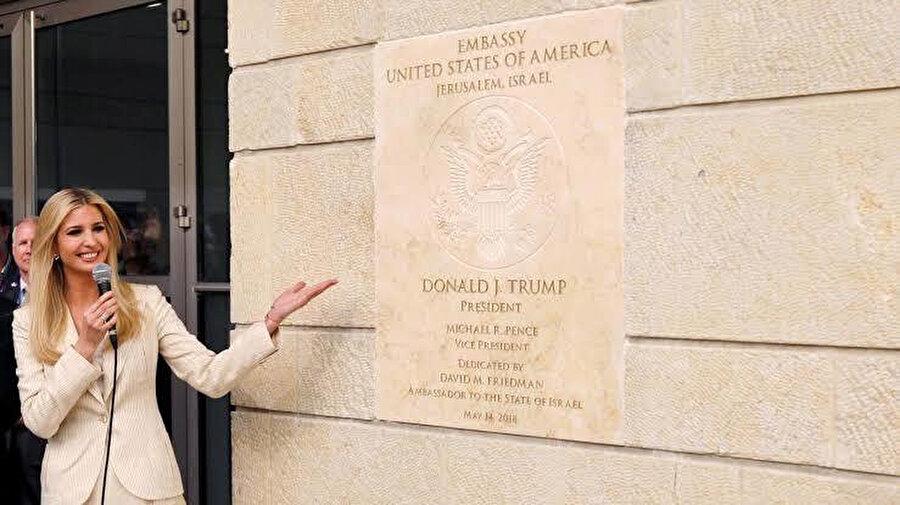 ABD'nin Kudüs'teki İsrail Büyükelçiliği.