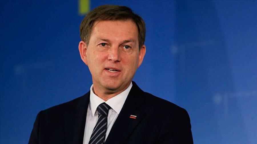 Slovenya Dışişleri Bakanı Miroslav Cerar