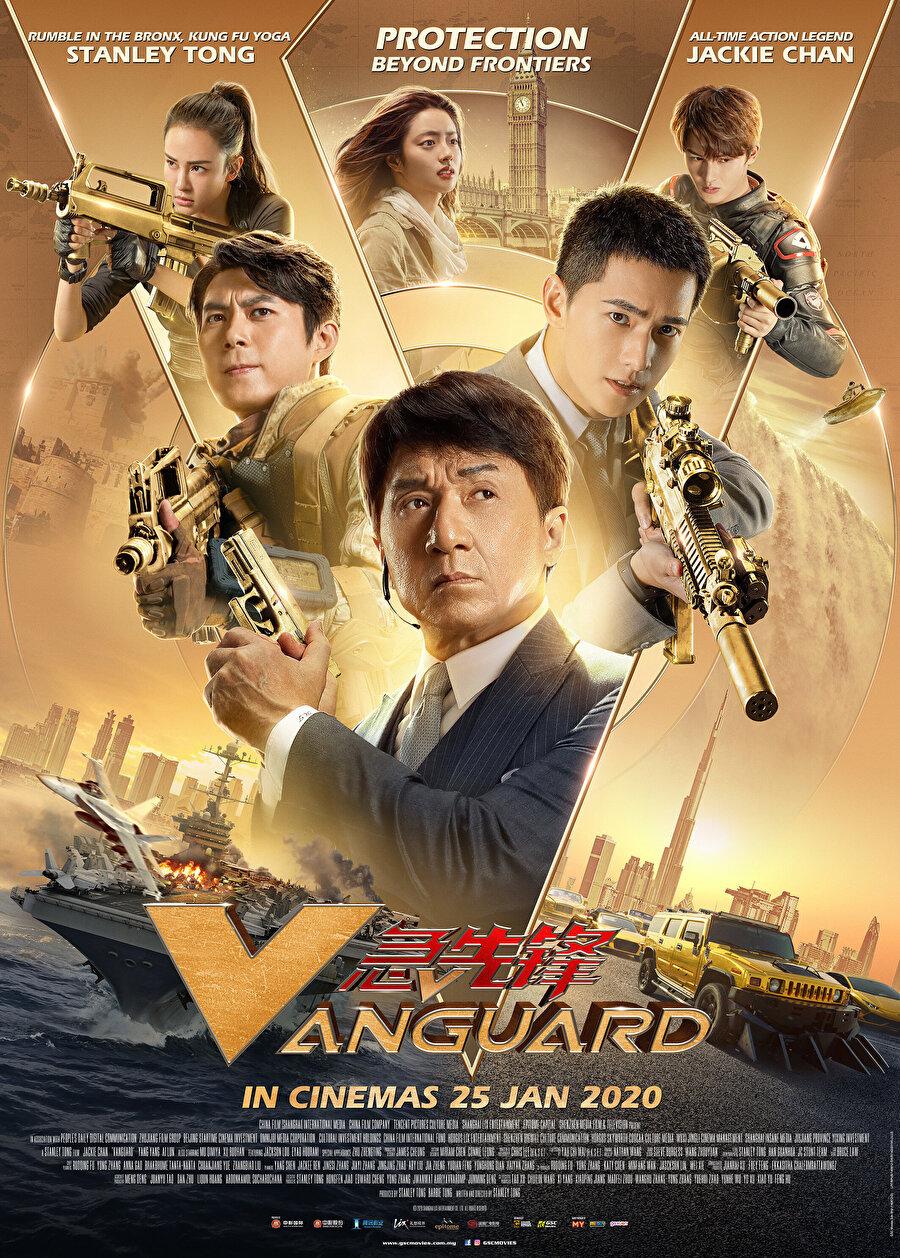 Jackie Chan'in son filmi Vanguard
