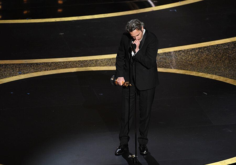 """""""Joker"""" filminin başrol oyuncusu Joaquin Phoenix"""