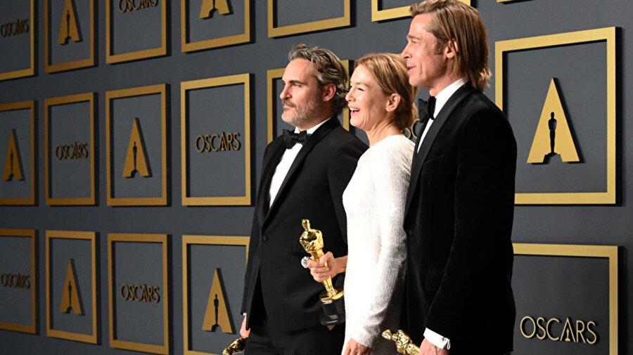 Joaquin Phoenix, Renee Zellweger, Brad Pitt