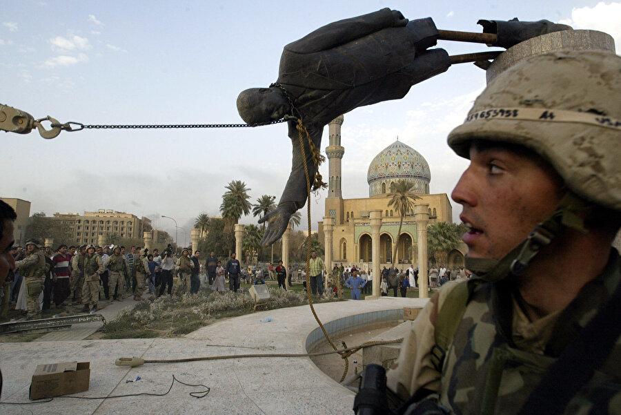 ABD'nin 2003 yılındaki Irak işgali.