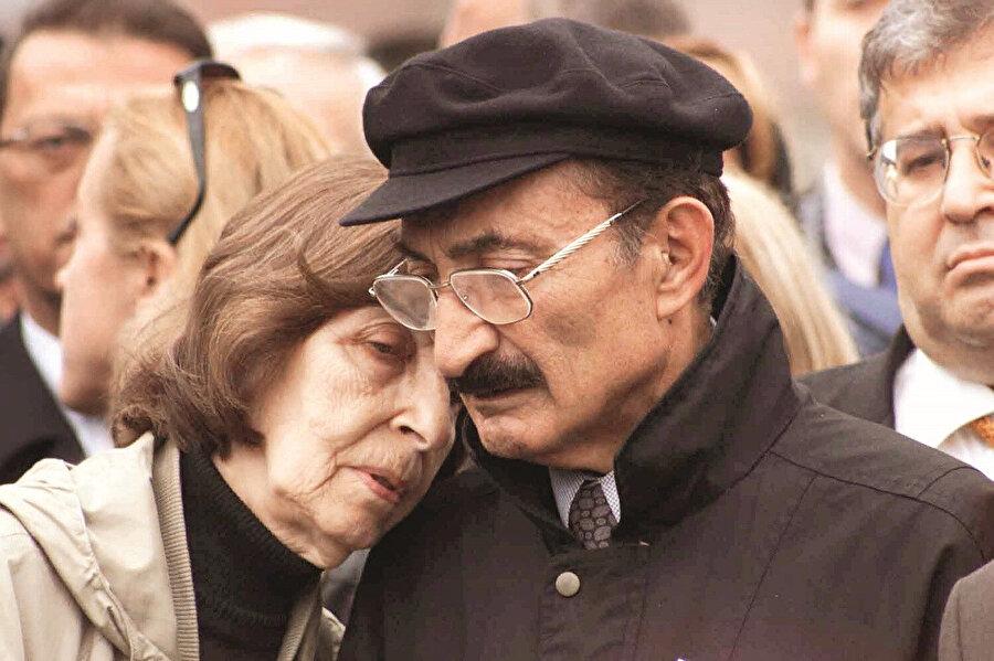23 Ekim 1999'da Ankara'da katıldıkları bir törende.