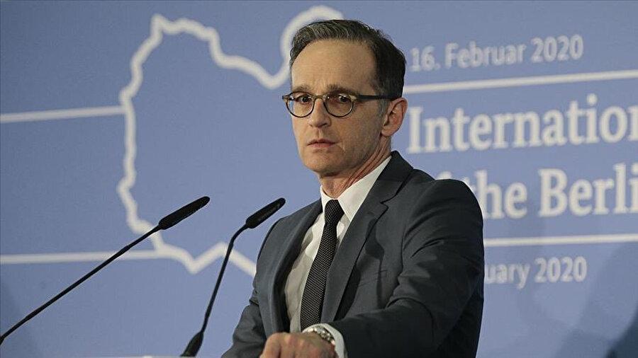 Almanya Dışişleri Bakanı Maas