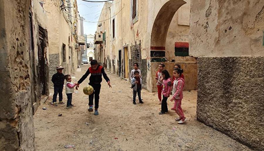 Libya'da günlük hayat...