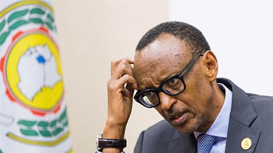 Ruanda Devlet başkanı Paul Kagame