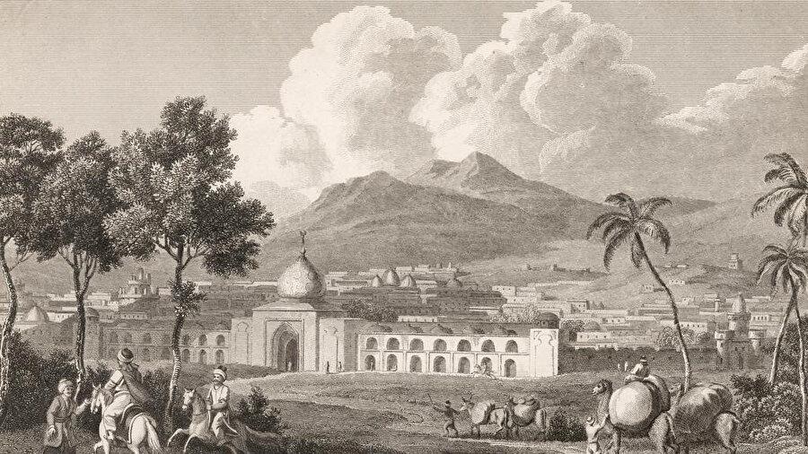 Safevi Devleti'nin başkenti Isfahan.