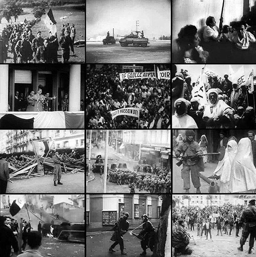 1954-1962 yılları arasındaki Cezayir Bağımsızlık Savaşı.