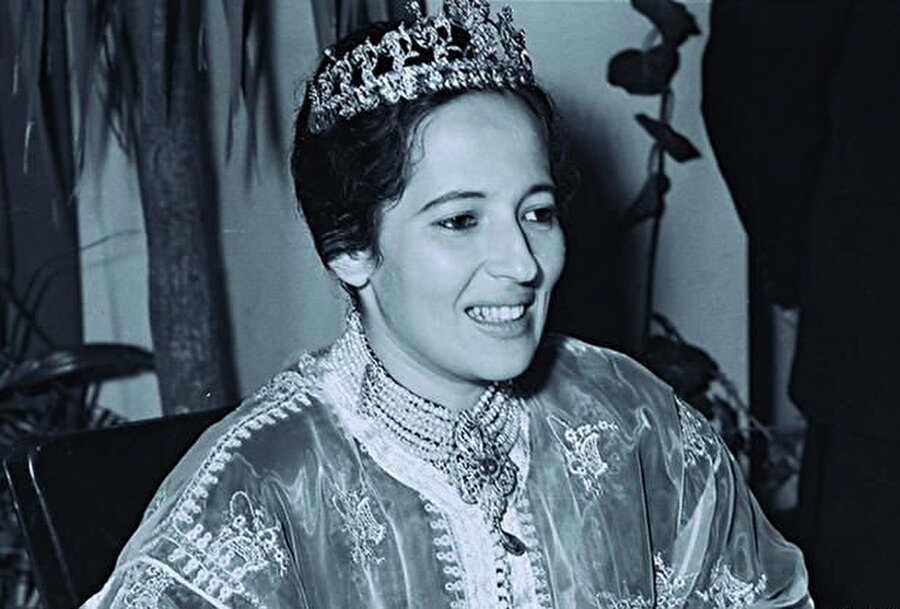 Fas prensesi Lalla Ayşe.