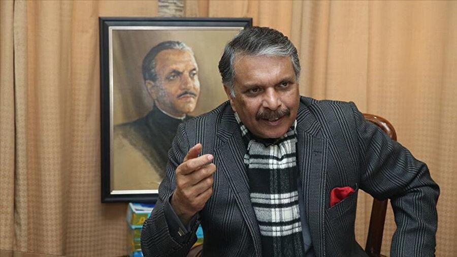 Pakistanlı eski bakan ve Ziya'ül Hak'ın oğlu Muhammed İcaz'ül Hak.