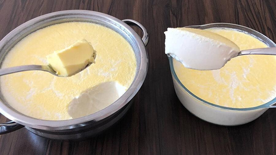 Yoğurt mayalamanın bir başka alternatifi de tereyağ ile mayalamak