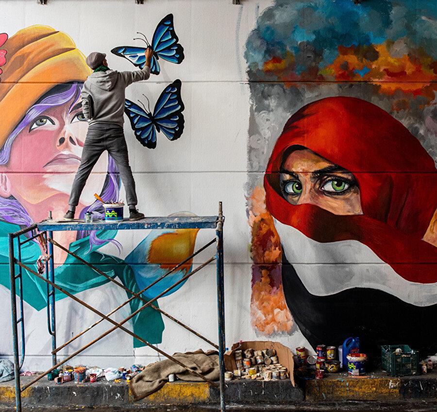 Bağdat protestoları.