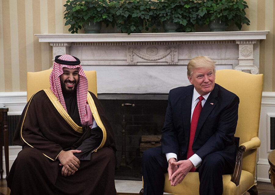 Donald Trump ile Veliaht Prens Muhammed bin Selman'ın yakın ilişkisi bulunuyor.