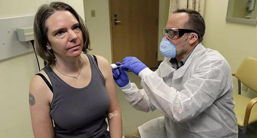 İlk aşının yapıldığı o an