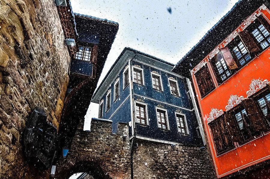 Eski Şehir evleri