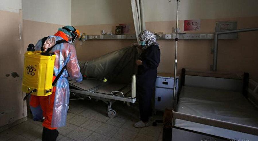 Batı Şeria'da vaka sayısı 40'ı geçti.