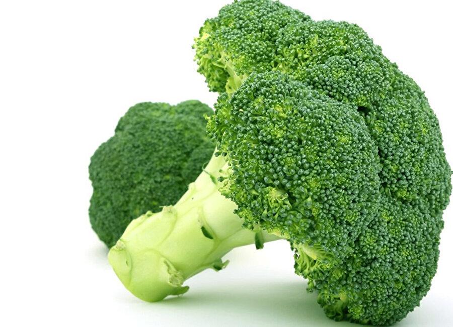 Vücut direncini artırdığı bilinen brokolinin, bağışıklık sistemine olumlu etkileri belirtilmiştir.