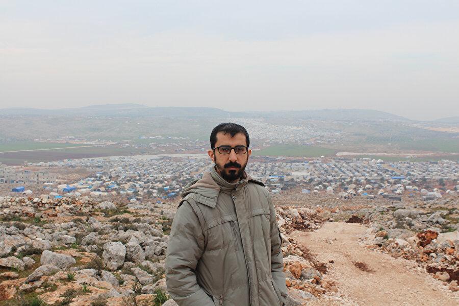 Dağın taşın çadırlarla dolu olduğu İdlib'ten...