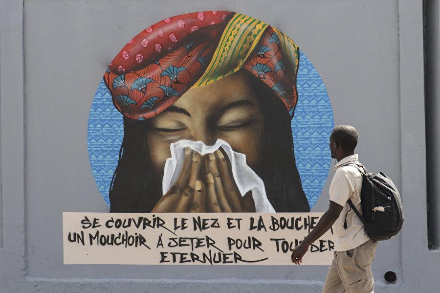 Dikkat çekmeyi hedefleyen grafitiler amacına ulaşmış görünüyor.